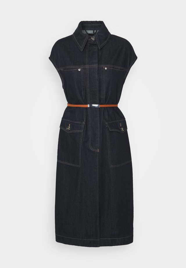 FANFARA - Denim dress - nachtblau