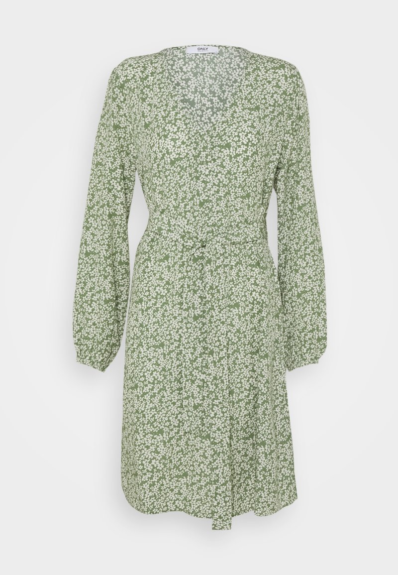 ONLY - ONLDAVIE IVY DRESS - Day dress - bosphorus