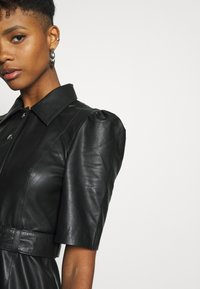 Object - OBJSTAR  DRESS  - Shirt dress - black - 4