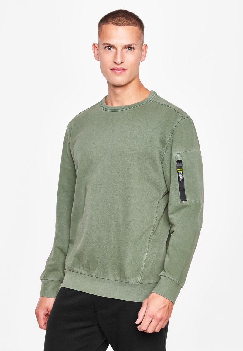 National Geographic - Sweatshirt - agave green