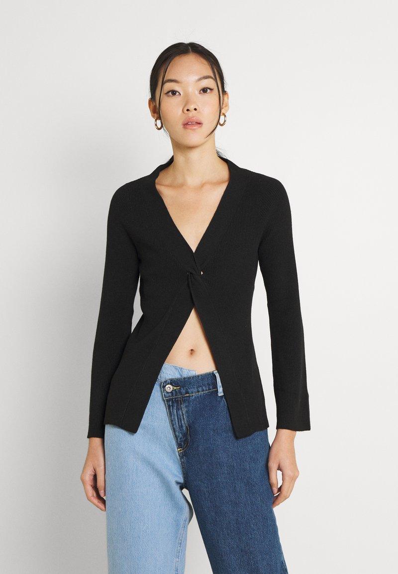Fashion Union - PHOEBE JUMPER - Trui - black