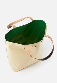 Marni - UNISEX - Tote bag - soft beige/garden green/black - 3