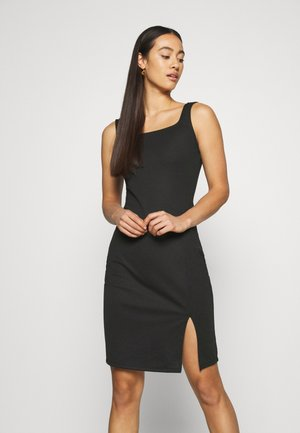 VMEDNA SHORT DRESS - Etuikjole - black