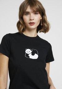 Topshop - TIGER & PANDA TEE 2 PACK - Print T-shirt - white - 5