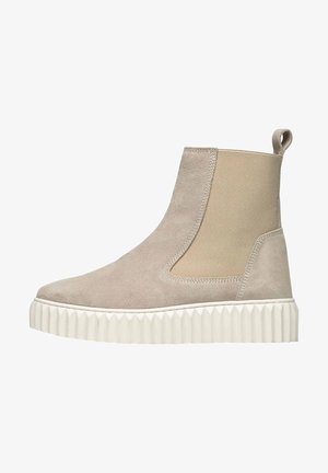 BETH AUS MILITARY - Ankle boots - beige