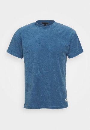 BREEZE TOWELLING REGULAR - Basic T-shirt - blue