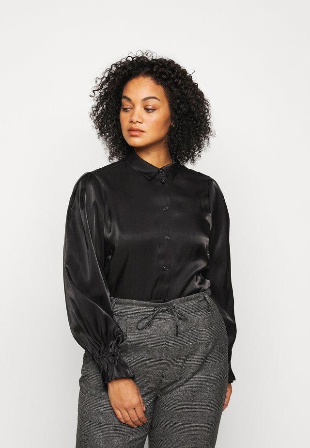 PCRAVENNA - Skjortebluser - black