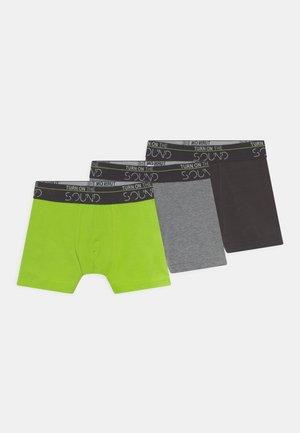 3 PACK - Pants - elite grey melange