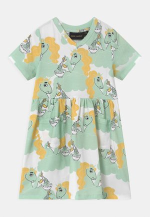UNICORN NOODLES - Jersey dress - green