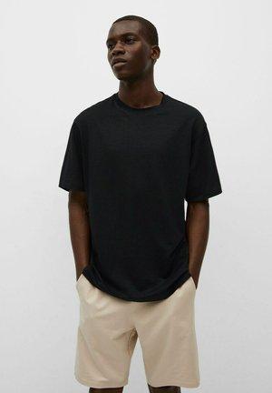 PREMIUM STRETCH - Jednoduché triko - black