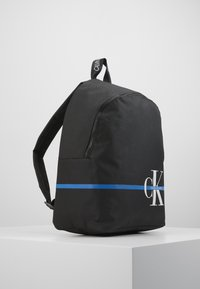Calvin Klein Jeans - MONOGRAM STRIPE BACKPACK - Batoh - black - 4