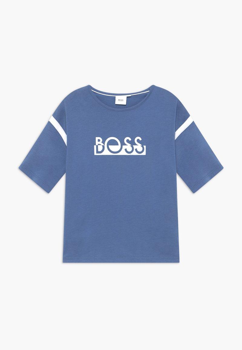 BOSS Kidswear - TEE - Triko spotiskem - lilac
