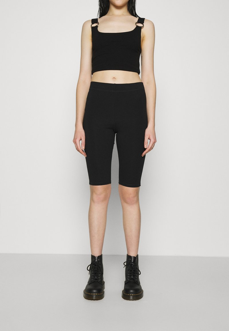 Weekday - MAURICE BIKER - Shorts - black