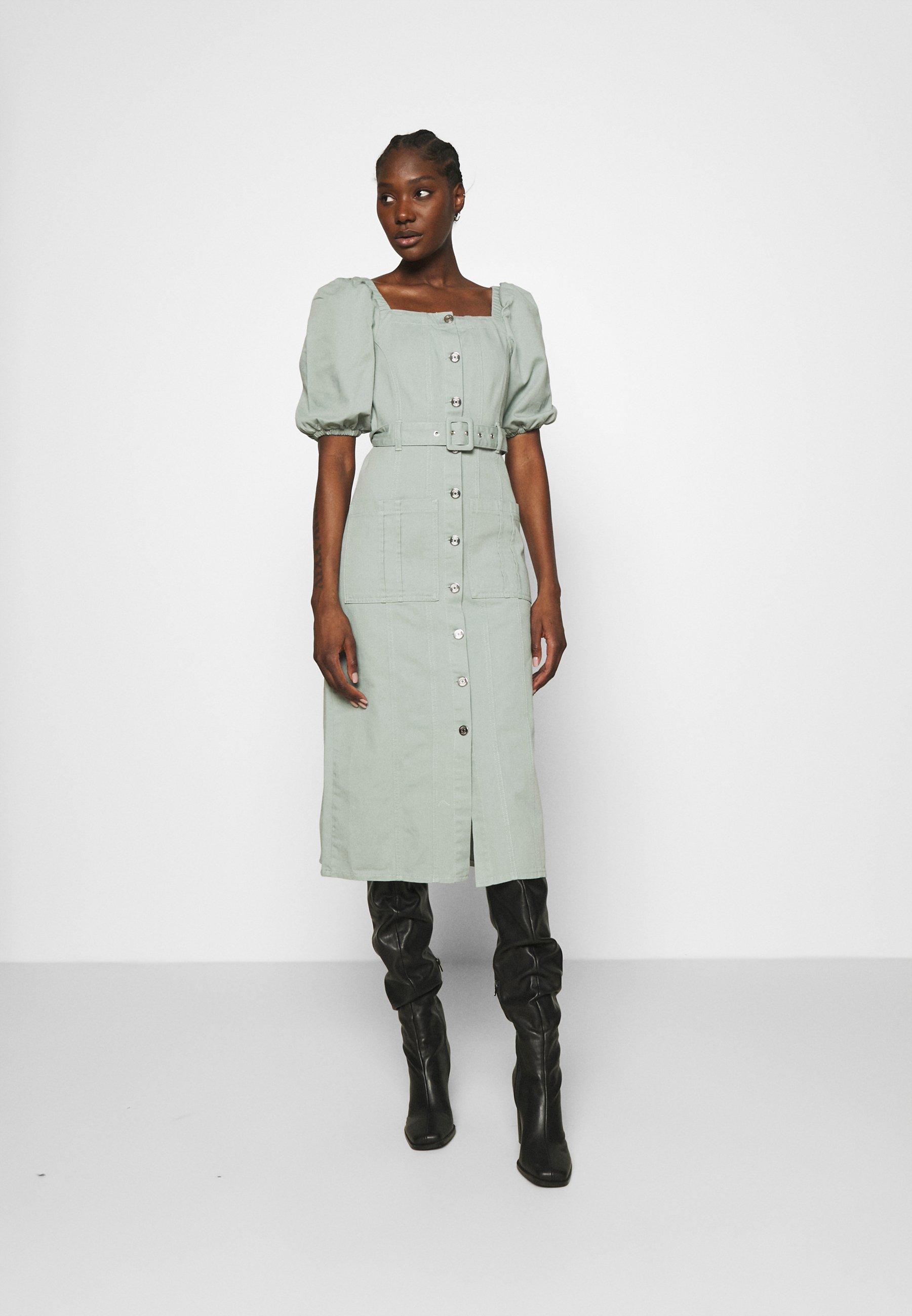 Women BELLIO DRESS - Denim dress