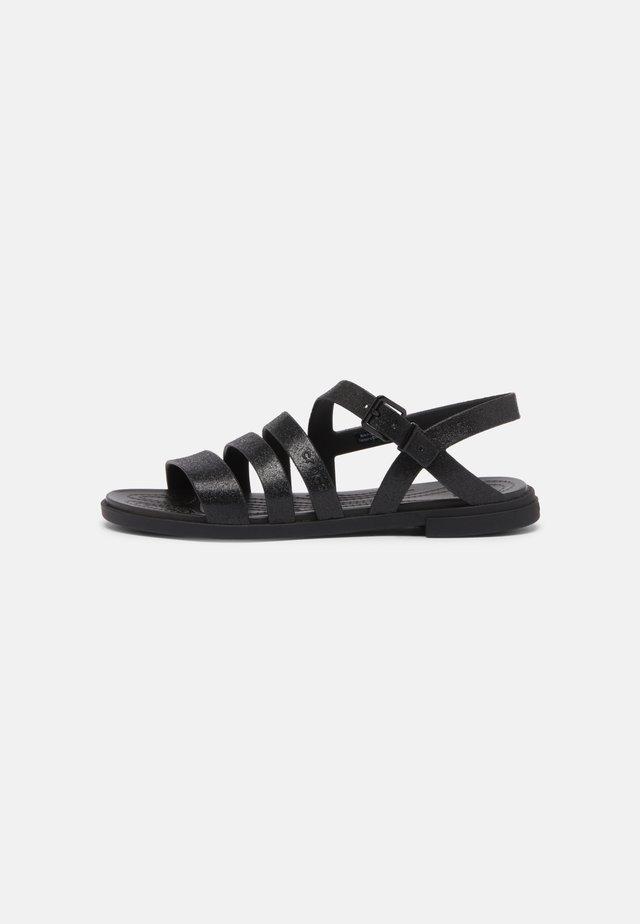 TULUM - Sandały kąpielowe - black