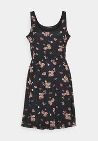 Even&Odd - Sukienka letnia - black/pink - 4