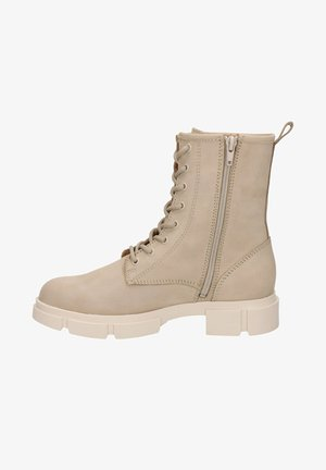 Ankle boots - off white