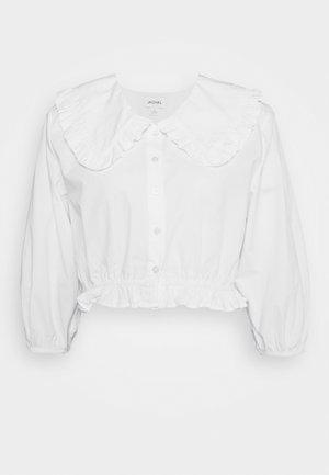 MILDA BLOUSE - Button-down blouse - white