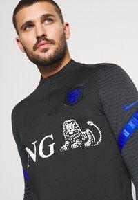 Nike Performance - NIEDERLANDE DRY  - Funktionströja - black/bright blue - 3