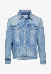 Calvin Klein Jeans - FOUNDATION SLIM JACKET - Džínová bunda - denim - 4