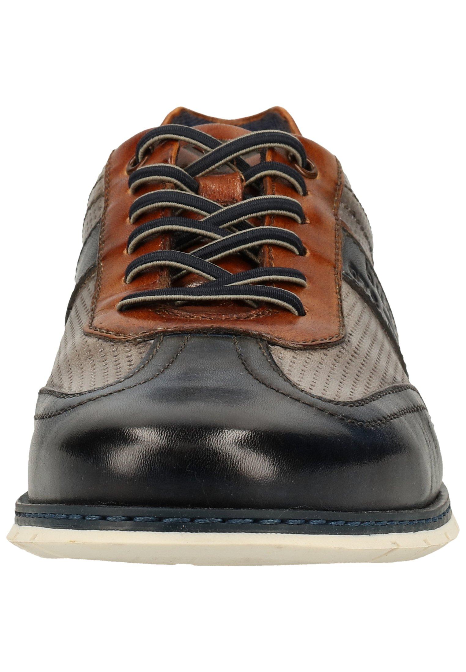 Homme Chaussures à lacets - dark blue/grey