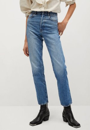 CLINTON-I - Relaxed fit jeans - mittelblau