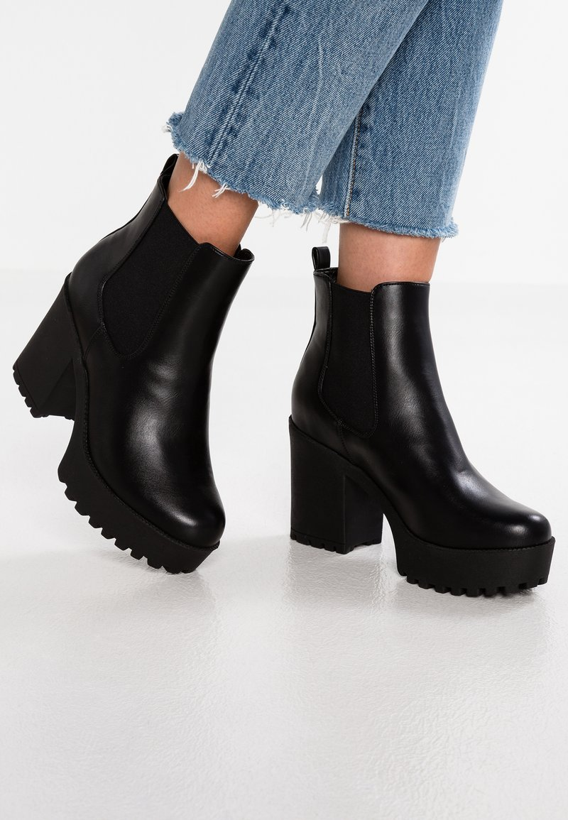 Even&Odd - Bottines à talons hauts - black