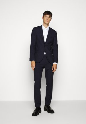 ARTI HESTEN - Suit - blue/red check