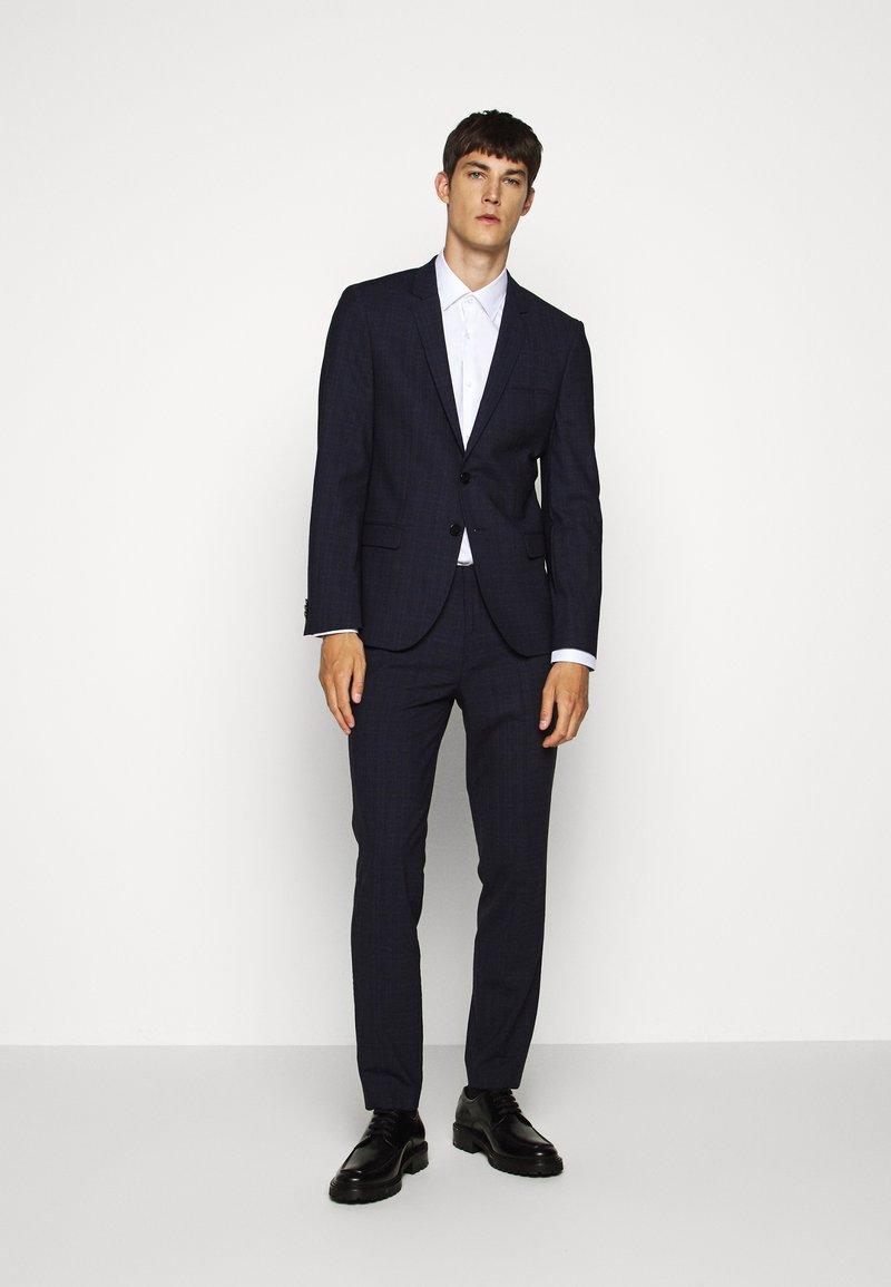 HUGO - ARTI HESTEN - Suit - blue/red check