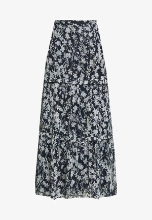 MARGAUX SKIRT - Maxi skirt - navy