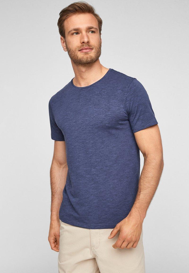 s.Oliver - T-shirt basic - blue melange