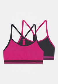 Marks & Spencer London - 2 PACK - Bustier - bright pink - 0