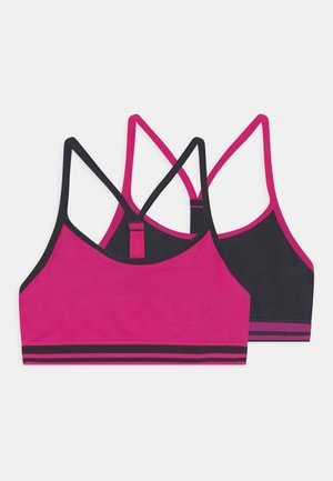2 PACK - Korzet - bright pink