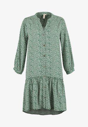 SHIWI LADIES DROP WAIST TUVALU - Skjortklänning - green
