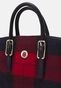 Tommy Hilfiger - HONEY WORKBAG CHECK - Handbag - blue - 3
