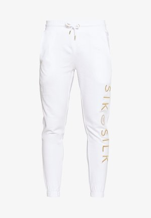 X DANI ALVES CUFFED JOGGERS - Tracksuit bottoms - white