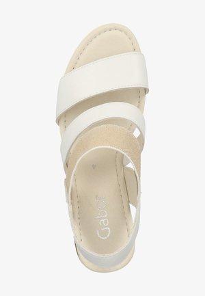 SANDALEN - Sandaler med høye hæler - white