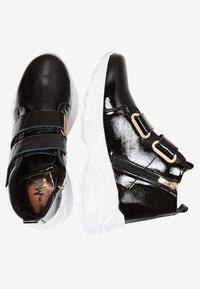myMo - Zapatillas altas - black - 2