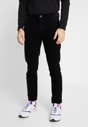 CORDUROY PANTS - Trousers - black