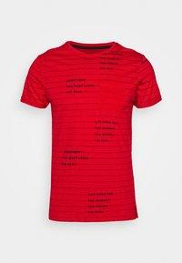 INDICODE JEANS - ECHOLS - T-Shirt print - goji berry - 0