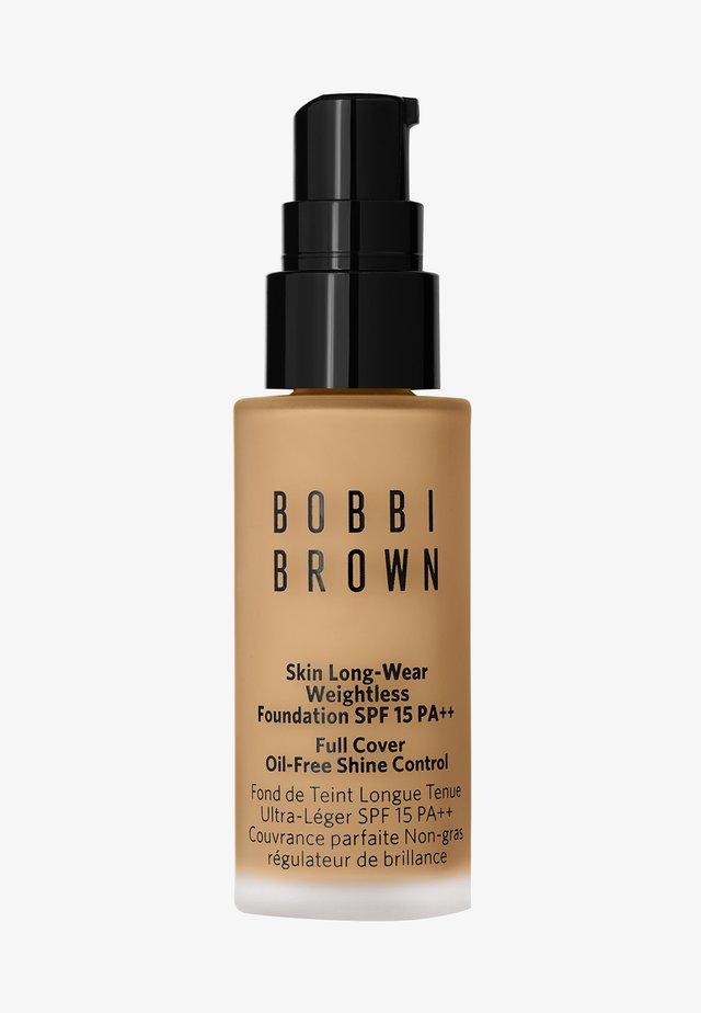 MINI SKIN LONG-WEAR WEIGHTLESS FOUNDATION - Foundation - warm beige