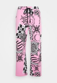 Jaded London - COLLAGE JOGGERS - Tracksuit bottoms - pink - 0