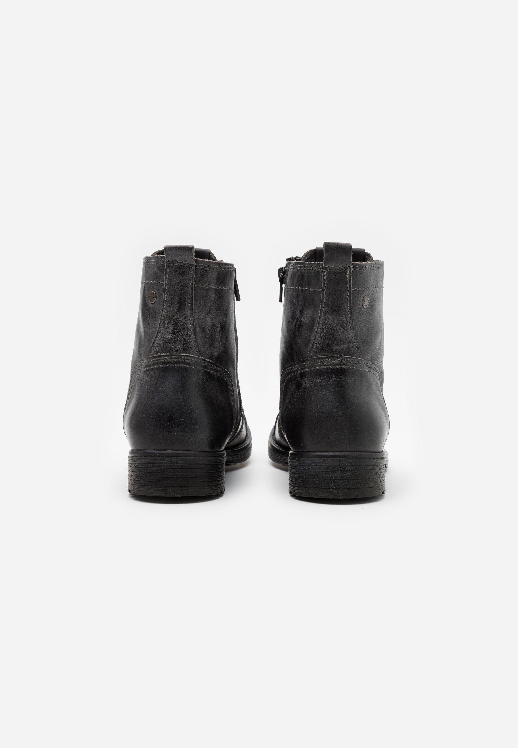 2013 Cheapest Jack & Jones JFWRUSSEL - Lace-up ankle boots - castlerock   men's shoes 2020 ZPEKu