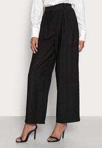Anna Field Petite - Trousers - black - 3