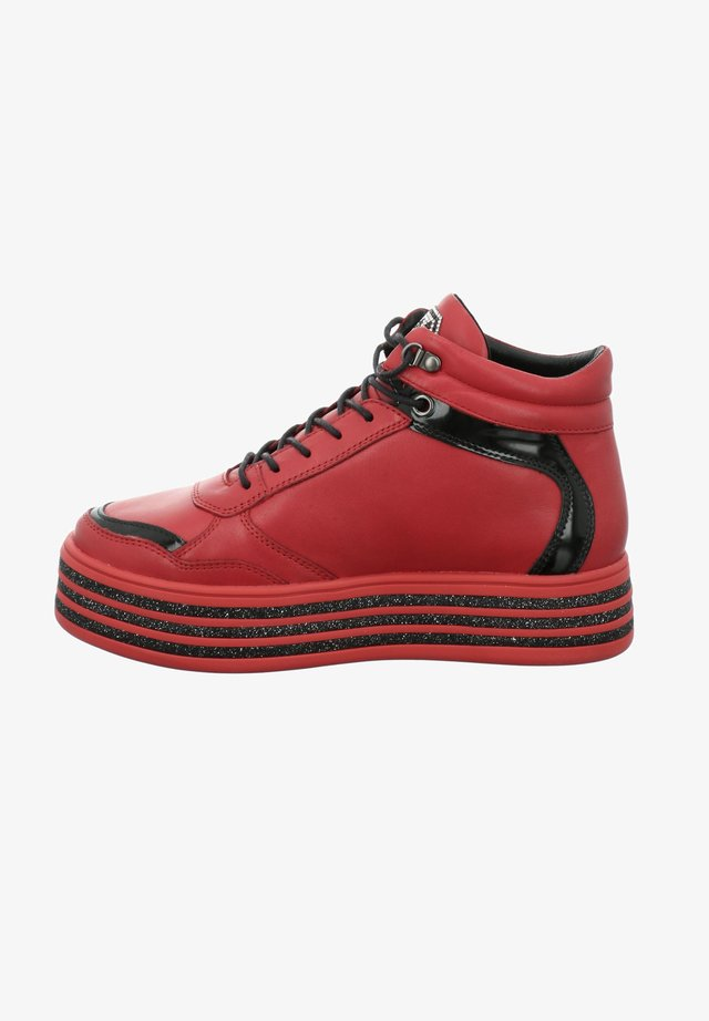 PAVIA  - Lace-up ankle boots - rot