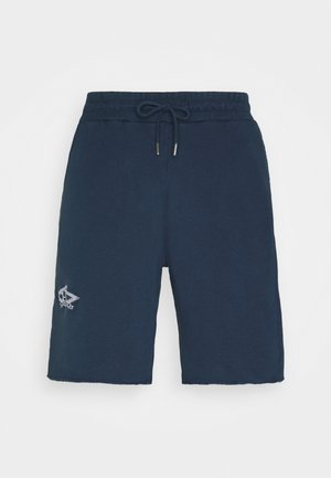 Shorts - faded navy/white