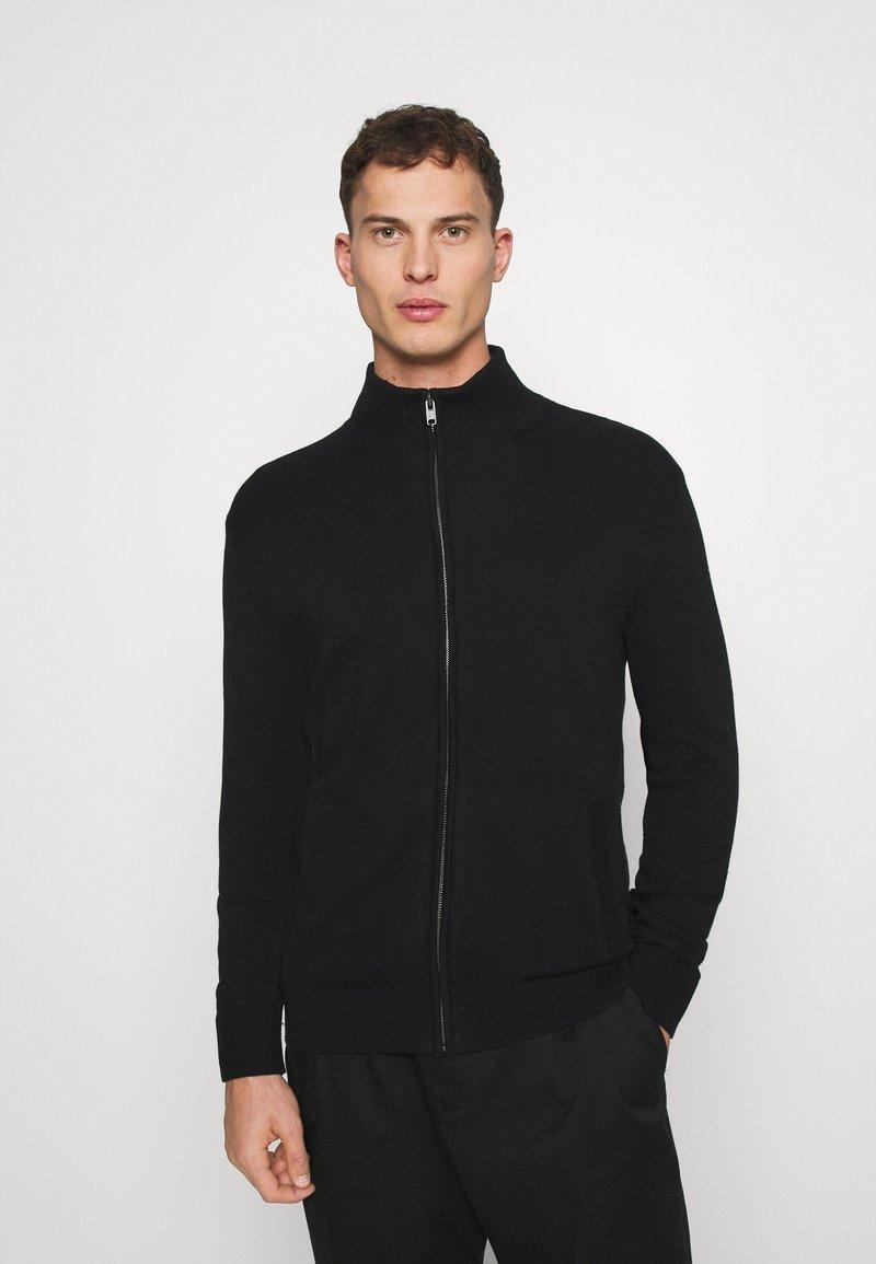 GAP - MOCK NECK - Jersey de punto - true black
