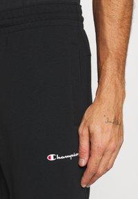 Champion - ELASTIC CUFF PANTS - Træningsbukser - black - 5