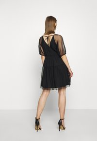 Vila - VIDANNA DRESS - Day dress - black - 2