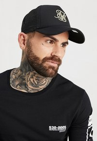 SIKSILK - TRUCKER - Cap - black/gold - 1